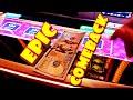 I GOT WILDS WITH MY WILDS!! * IT WAS WILD!! - Las Vegas Casino Dancing Drums Prosperity Slot Machine
