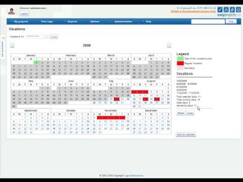 Project Management Resource Planning in Easy Projects .NET