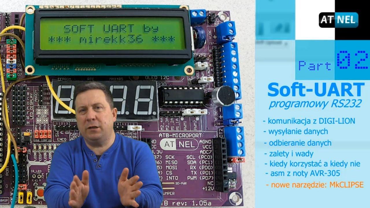 #0310 SOFT UART - programowy RS232 - Part 02
