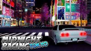 DRIVING THROUGH JAPAN in a SKYLINE GT-R! (Roblox Midnight Racing: Tokyo) #2