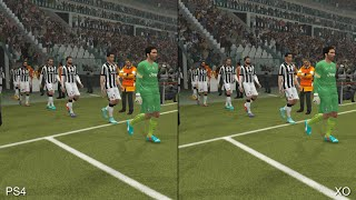 PES 2015: PS4 vs Xbox One Comparison