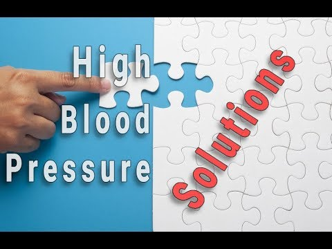 High blood pressure solutions