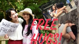 Free hugs in Tokyo (Harajyuku)