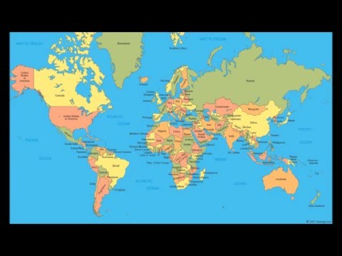Countries of the World Song (as of 1/9/16)