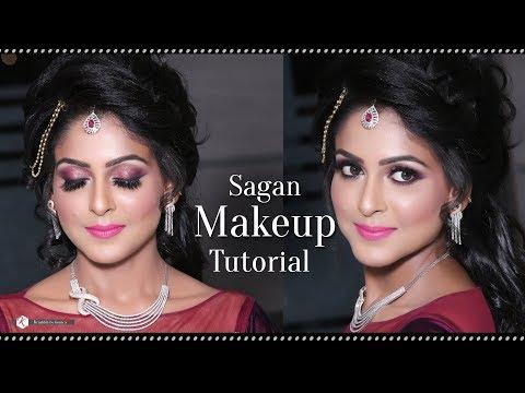 Makeup Tutorial For Engagement Parties - 2018 Best Sagan Makeup Tutorial Videos - Krushhh By Konica - 동영상