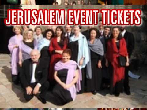 Concert tickets: Jerusalem Cameri Choir Etherna Music