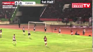 Persis Solo Vs Timnas U23  Goal & Highlight