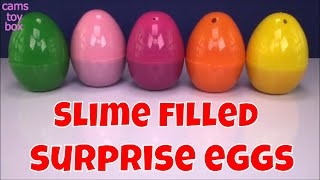 Mixing Slime Smoothie Surprise EGGS TOYS Incredibles 2 Kinder Joy Toy Story Opening Fun Kids