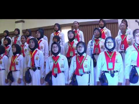 Jambore Pandu Sekolah Model SMPN 3 Surabaya