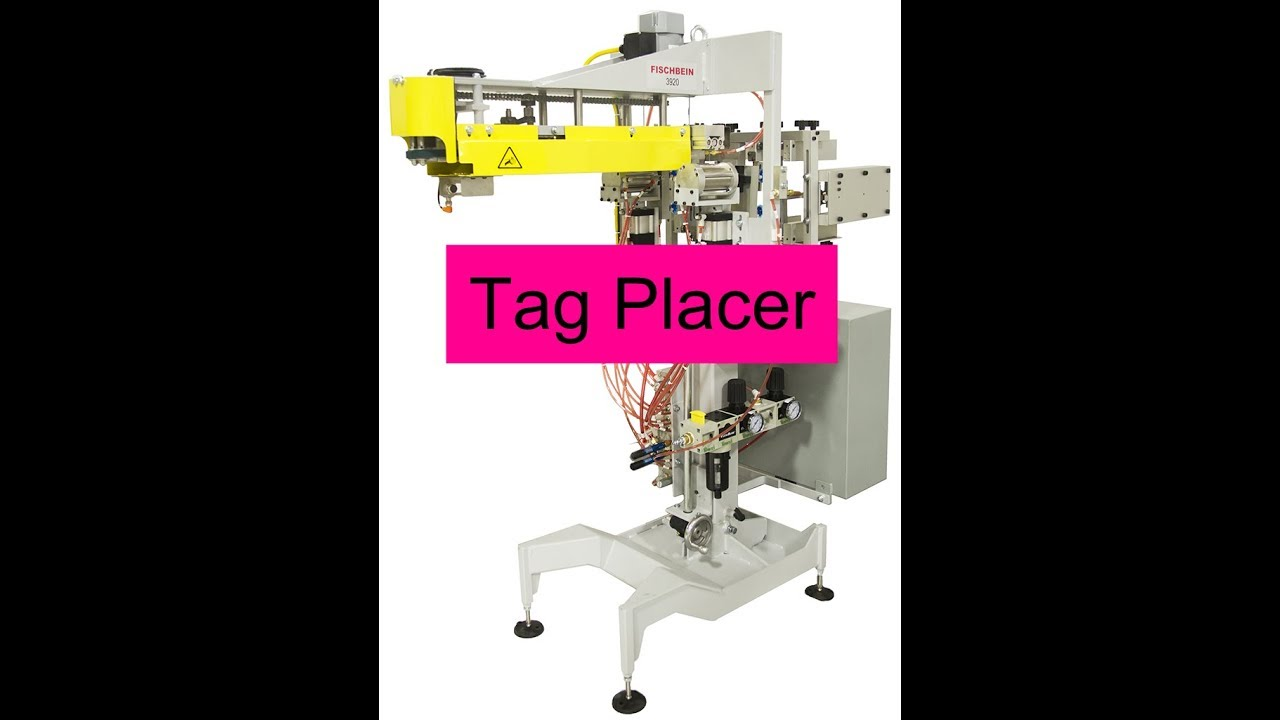 Bag Tagging Machine Bag Tag Placer Fischbein 3920 Dual