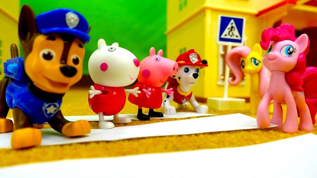 Песенки для малышей. Развивающее видео с игрушками. - YouTube