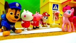 Песенки для малышей. Развивающее видео с игрушками.