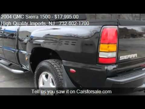 2004 GMC Sierra 1500 Denali Ext Cab AWD QUADRASTEER - for sa - YouTube