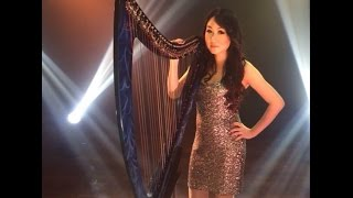 Problem - Ariana Grande - Angela July (X Factor) Vocal & Harp Cover