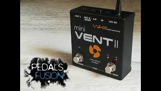 Neo Instruments - MINI VENTII Rotary Speaker Simulator - guitar demo
