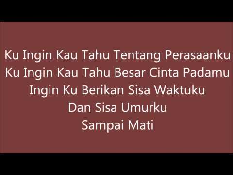 Irwansyah - Tentang Perasaanku (instrumental + lirik)