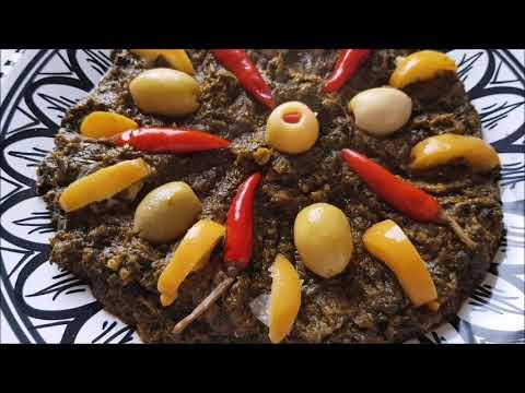 bakoula-avec-des-épinards-à-la-marocaine-بقولة-بالسبانخ
