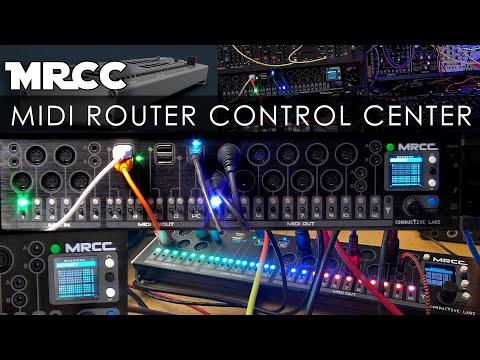 MRCC - MIDI Router Control Center