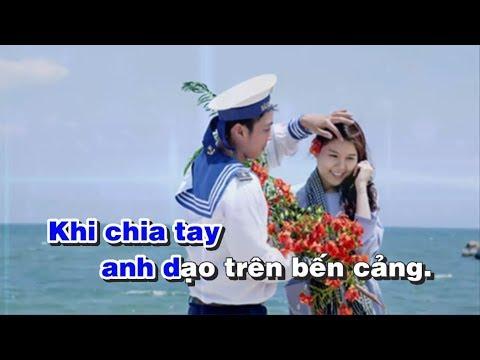 Chút Thư Tình Của Người Lính Biển Karaoke Biển một bên - Sáng tác Phan Huỳnh Điểu