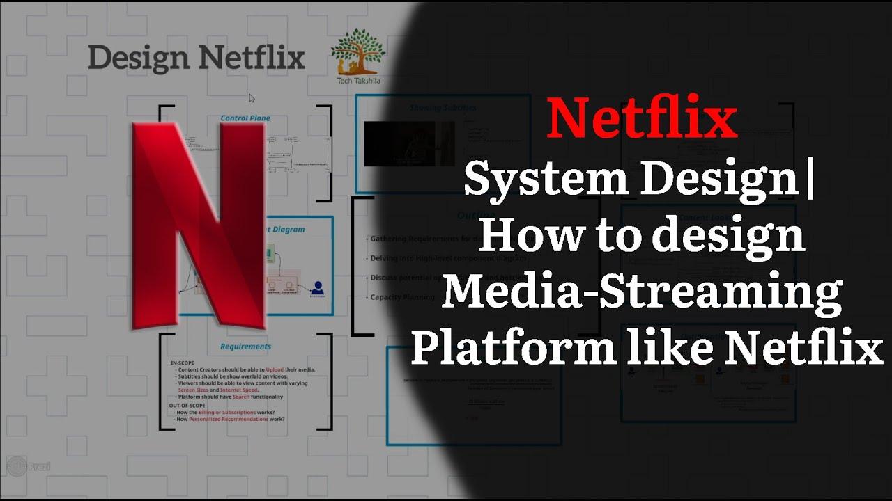 Netflix System Design Media Streaming Platform System Design Interview Youtube