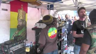 Aba Shanti-I at Notting Hill Carnival 2012 showcasing the forthcoming Dubkasm album