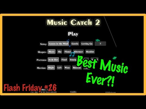 Music Catch 2 - Best Music in a Flash Game! (Flash Friday #26) | jakepeter