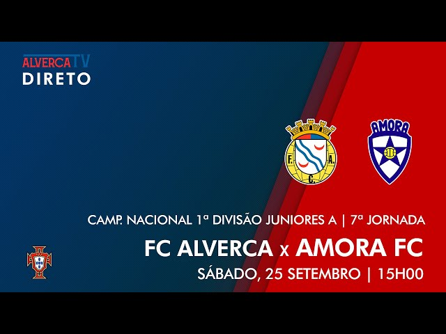 DIRETO   FC Alverca x Amora FC