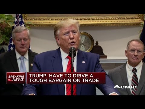 Trump: 50/50 China trade deal won't work, has to be better deal for US