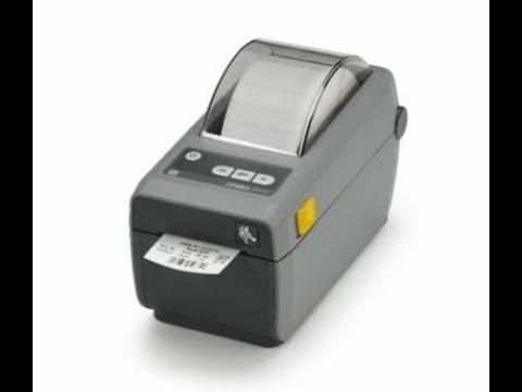 Обзор принтера Zebra ZD410