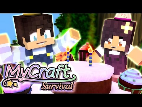 Baby Birthday Party | MyCraft Family Minecraft Survival [Ep.5]