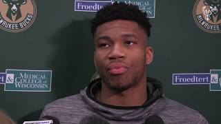 Giannis Antetokounmpo On The Passing Of Kobe Bryant | 1.27.20