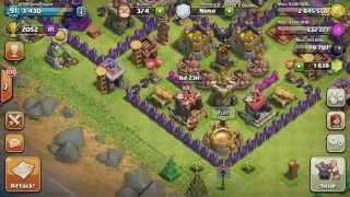 Lava Hound Gameplay Clash of Clans - All New updates - Lava Hound Stats Max Archers&Barbs Level 7
