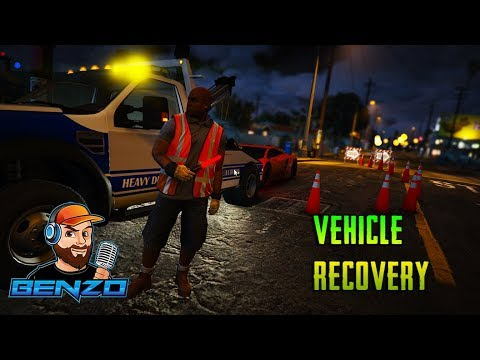 GTA 5 - Vehicle Recovery Roadside Assistance
