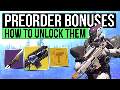 DESTINY 2 PC | How to Get Cold Heart, Pre Order & Deluxe Bonus! Kill Tracker Ghost & Traitor's Fate!