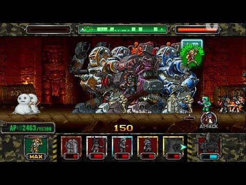 [HD]Metal slug ATTACK. ONLINE!  QUAD GIGANT  Deck!!! (2.7.0 ver)