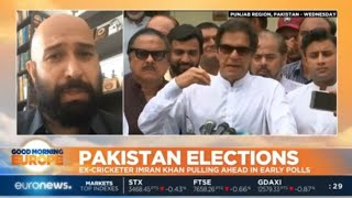 Pakistan Elections: Ex-Cricketer Imran Khan pulling ahead in early polls