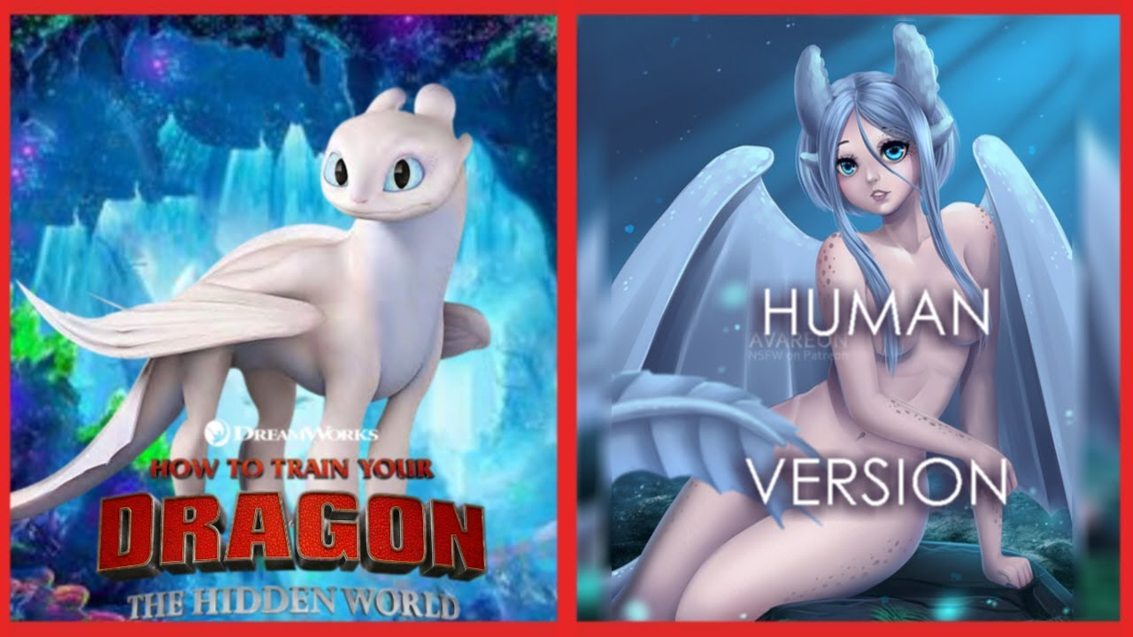 How To Train Your Dragon 3???? HUMAN VERSION????