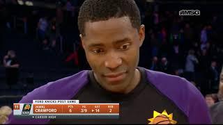 Phoenix Suns Jamal Crawford on Setting Career High in Assists vs. Knicks