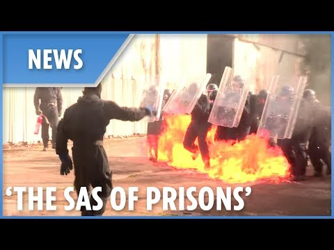 Prison system's answer to the SAS: National Tactical Response Group