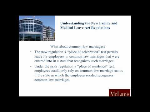 Understanding the New Family Medical Leave Act Regulations
