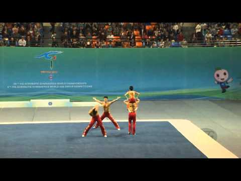 China (CHN) -  2016 Acrobatic Worlds, Putian City (CHN) Combined  Men's Group