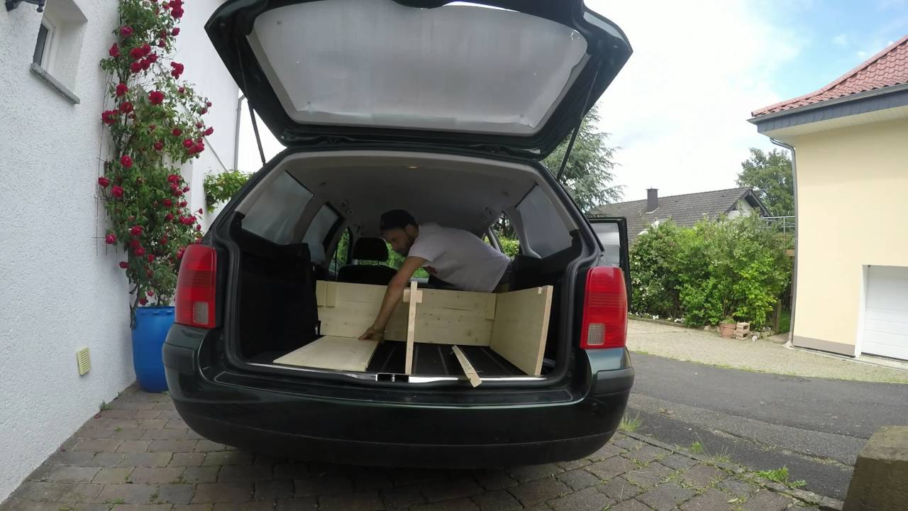 Suv Camper Conversion >> VW Passat in ein Wohnmobil umbauen - YouTube