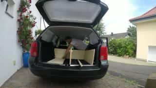 VW Passat in ein Wohnmobil umbauen