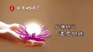 佛教如來宗 佛曲 - 妙禪師父 還君明珠 MV