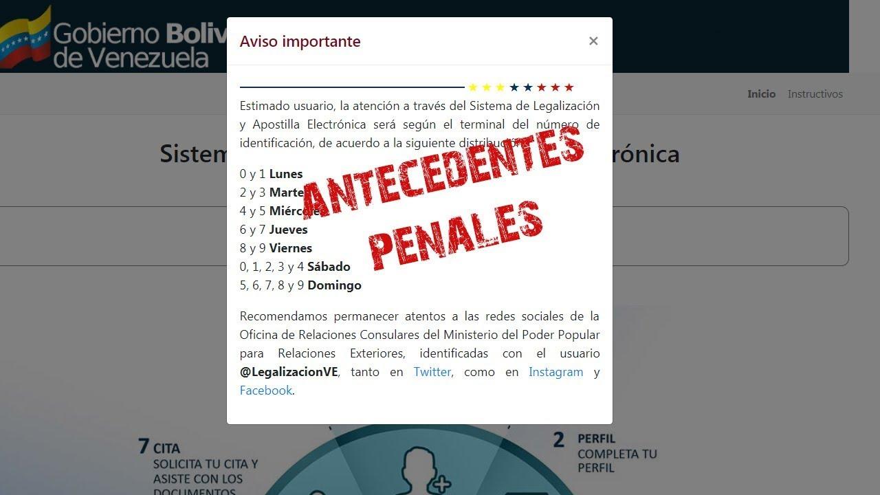 Que Documentos Aplican Para Apostilla Electronica Venezuela - Nueva Aplicación