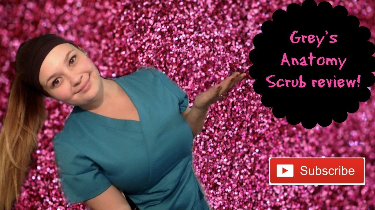 Grey\'s Anatomy Scrub review! - YouTube