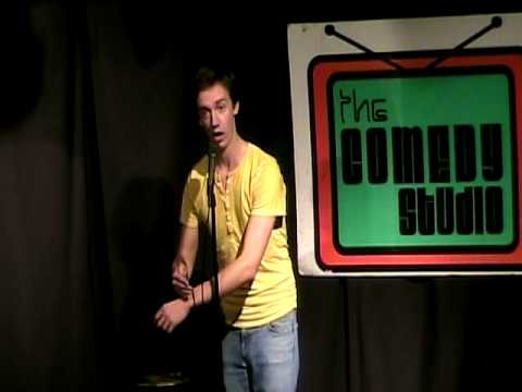 Chris Fleming at the Comedy Studio