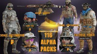 Void Edge 100+ Alpha Pack Opening | So Many Legendaries!!!