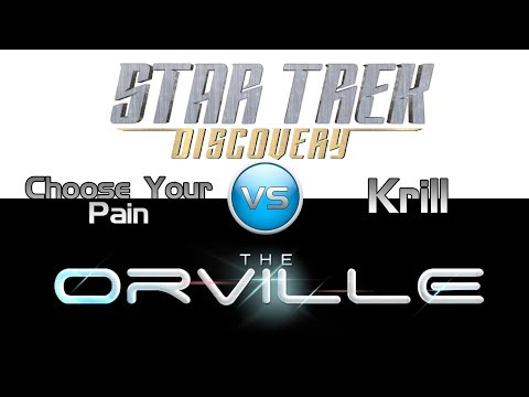 Thumbnail: Trek it or Wreck it #4: This Week's Orville vs. Discovery