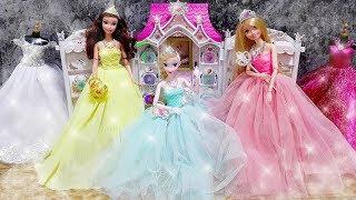 Princess Bell Rapunzel Elsa Party Dress Up - Gaun pesta Putri Princesa Fiesta Vestido